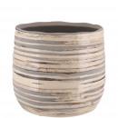 Keramik Kübel Saigon mini, D7cm, H6,5cm, für TO6,